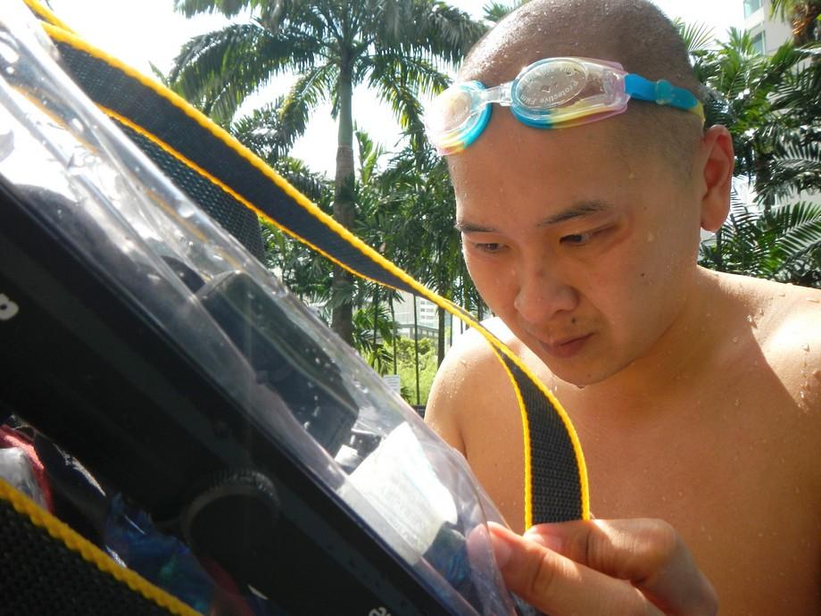 Raymond Phang Underwater Experiment 1