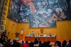 Carmen Aristegui recibe el galardón 'Corazón de León' ⑰