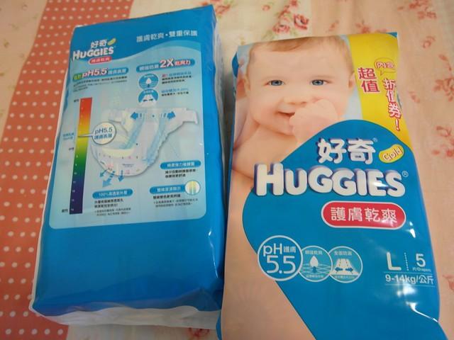 外包裝特色說明@好奇護膚乾爽ph5.5紙尿布試用