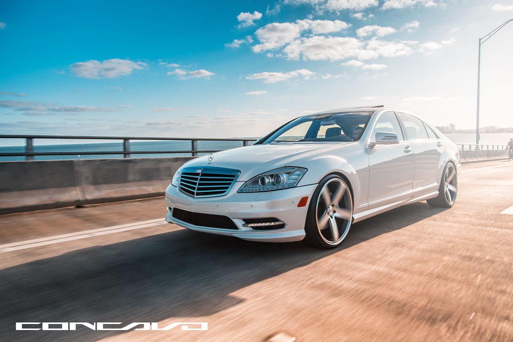 Mercedes benz s550 concavo cw 5 matte grey machined for Mercedes benz miami fl