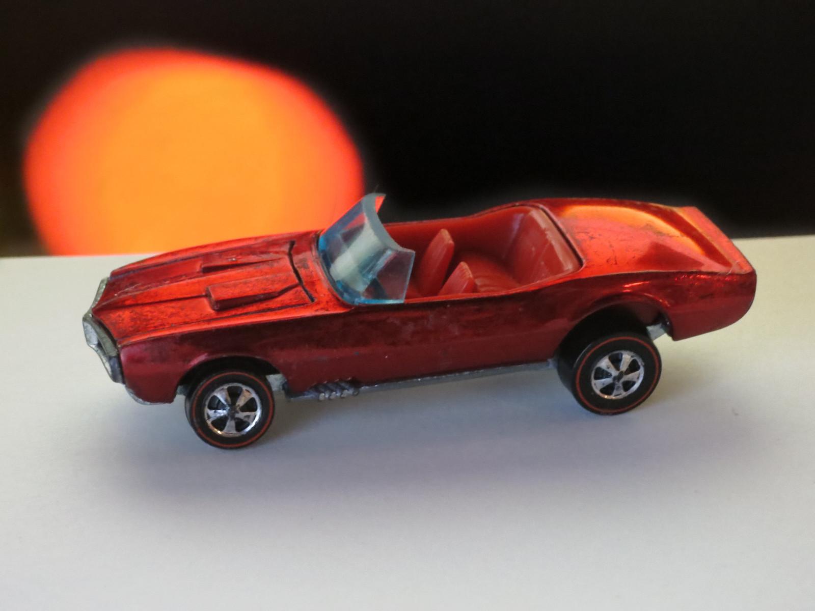 Hot Wheels Redline Red Custom Firebird HK