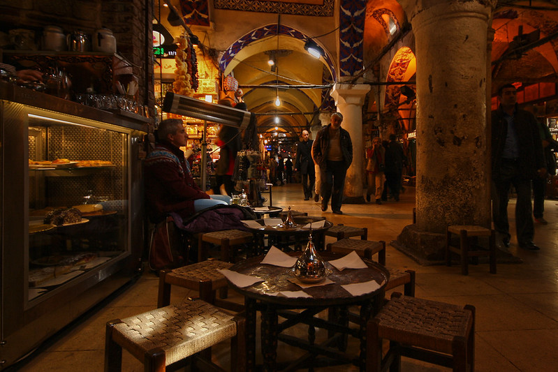Cafe At Grand Bazaar