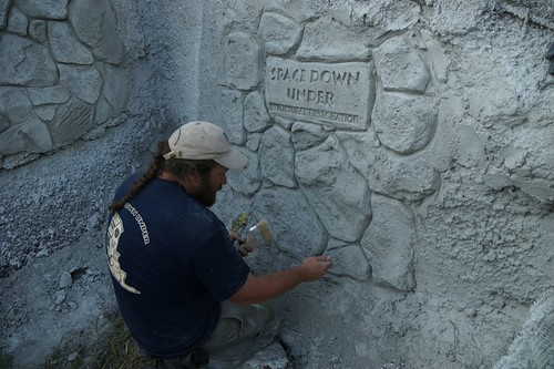 vertical decorative concrete course review 2014 | stucco sprayer