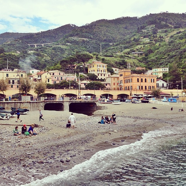 Last stop at #cinqueterre was Monterosso...