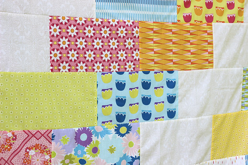 Dreamin' Vintage Sidebraid Quilt Top