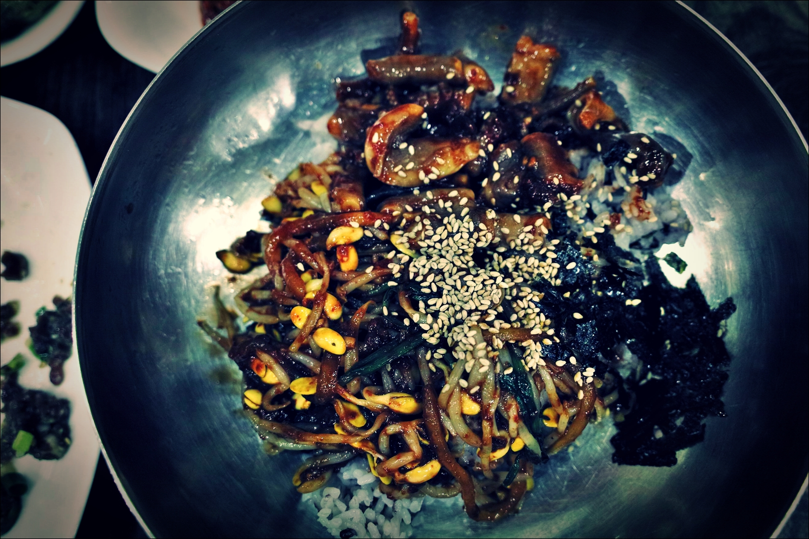낙지비빔밥-'목포 독천식당 Dokcheon small octopus Restaurant Mokpo'