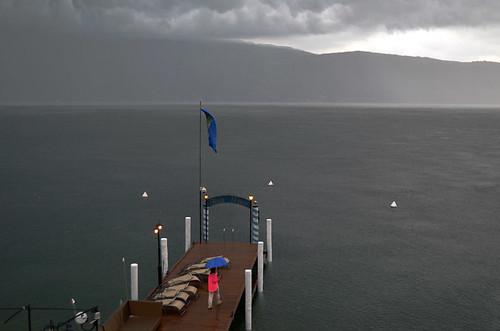 Storm on Lake Garda