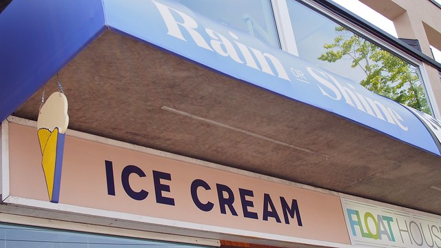 Rain or Shine Ice Cream | Kitsilano, Vancouver