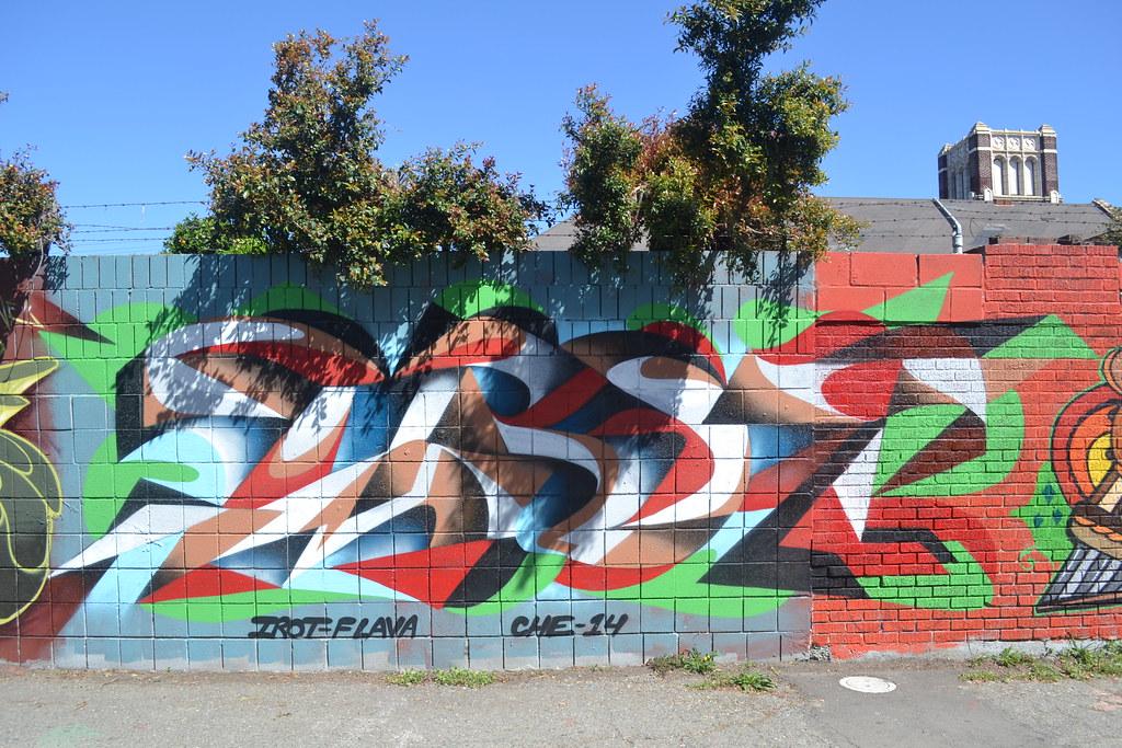 IROT, Graffiti, Street Art, Oakland, CHE, STM,