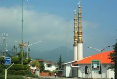 Minarets in Ramsar