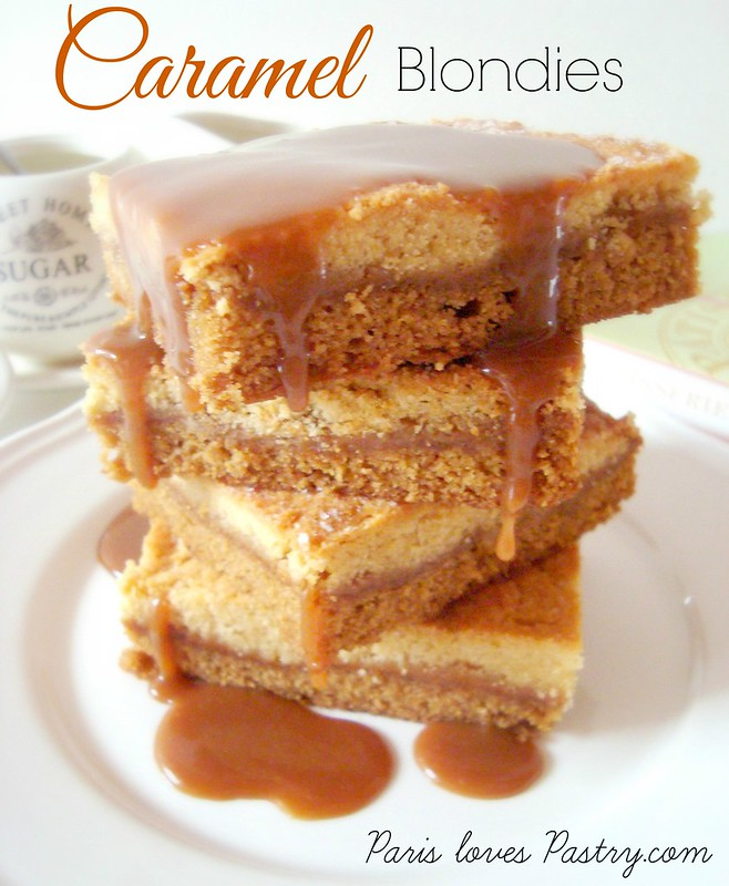 Caramel Blondies