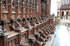 Choir Stalls in Antwerp Cathedral
