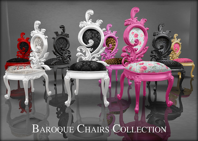 baroque chairs collection