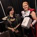 Small photo of Thor & Loki cosplayers