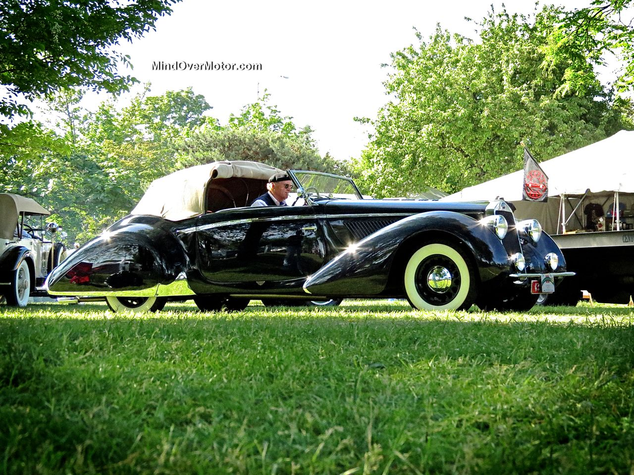 1939 Delage D6 at the Greenwich Concours d'Elegance