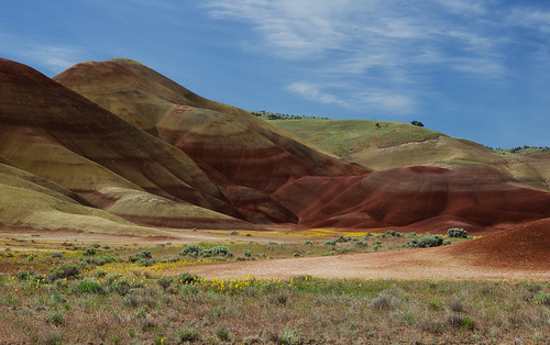landscape painted hills oregn d5100
