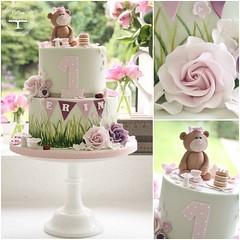 Teddybear picnic cake