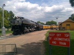 Keep off locomotives!