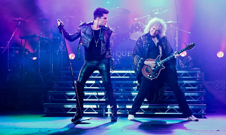 Queen and Adam Lambert perform