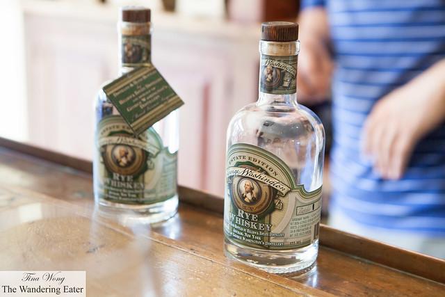 George Washington Rye Whiskey to taste