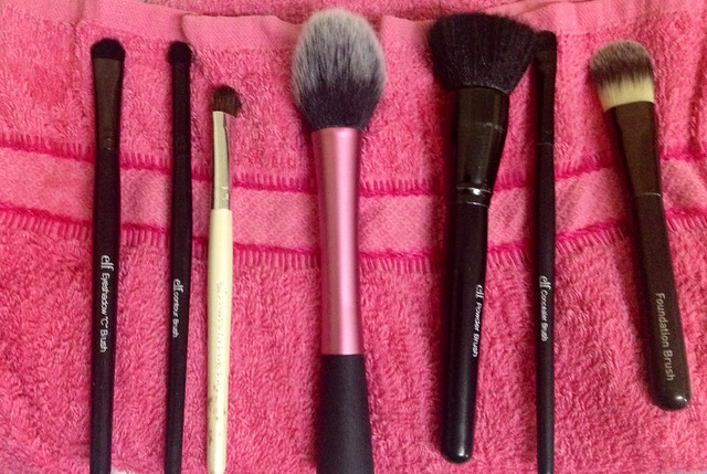 My everyday brushes