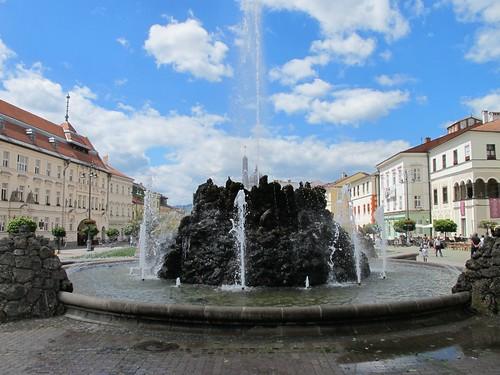 Main square (Námestie SNP), Banská Bystrica, Slovakia