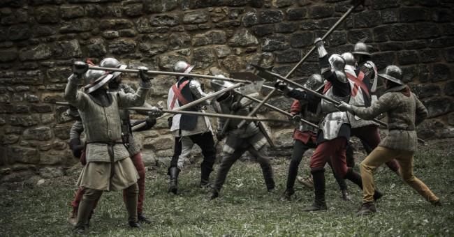 Bitva Budyně nad Ohří, 9. srpna 2014.