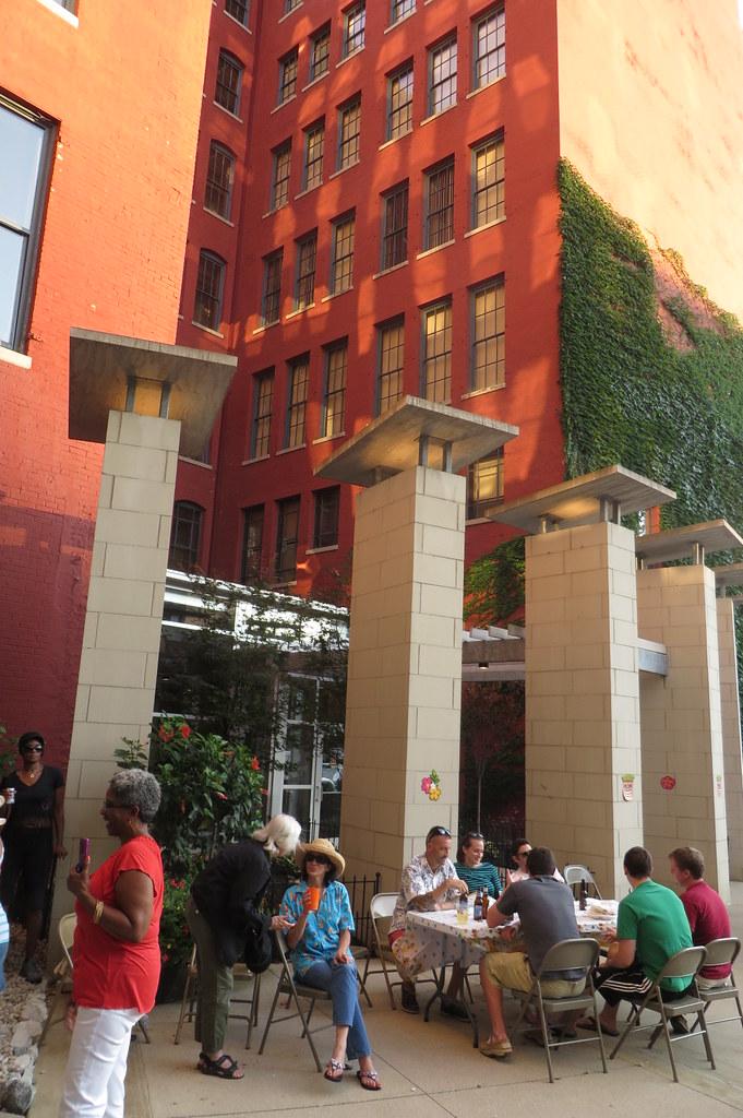 Sycamore Place Lofts Luau