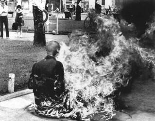 ZELFVERBRANDINGEN IN VIETNAM