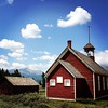 Rocky Mountain schoolhouse. Eat your heart out, #VT.