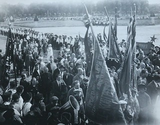 """On the Field of Mars"", Petrograd [17th July 1920]"