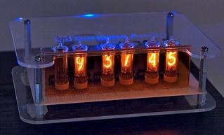 nixie clock, new case variation