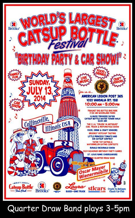 Catsup Bottle Fest 7-13-14