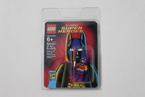 LEGO DC Comics Super Heroes Batman of Zur-En-Arrh SDCC 2014 Exclusive Minifigure