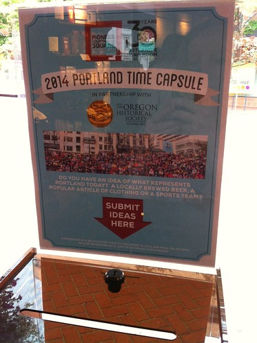 Portland time capsule
