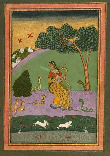 008-Album of Indian Miniatures and Persian Calligraphy- The Art Walters Museum MS. W.669
