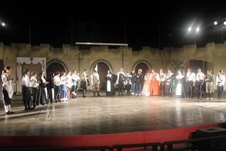 Cyrano de Bergerac, messo in scena dai ragazzi del progetto Il Cantiere Teatrale, regia e adattamento dell'attore e regista Carlo D'Ursi