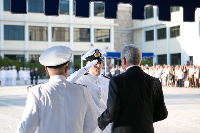 Tελετή ορκωμοσίας των νέων Σημαιοφόρων στη Σχολή Ναυτικών Δοκίμων -1/07/2014