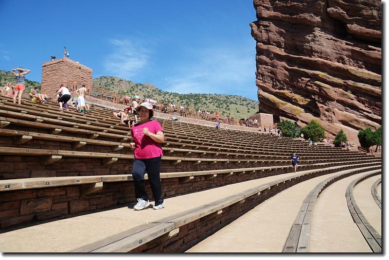 Creation Rock & Terraces(seats) of Amphitheatre 3
