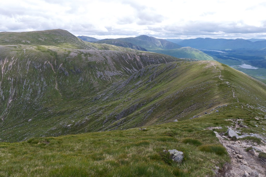 Eastern ridge of Glas Bheinn Mhor