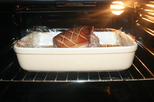 48 - Weiter im Ofen garen / Continue bake in oven
