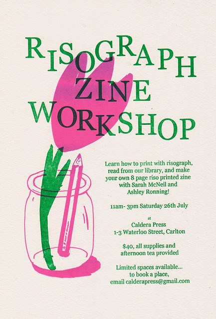 Riso Zine Workshop