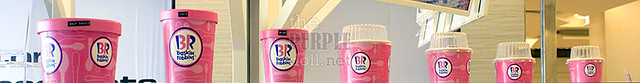 Baskin Robbins Ice Cream Sizes BGC The Fort