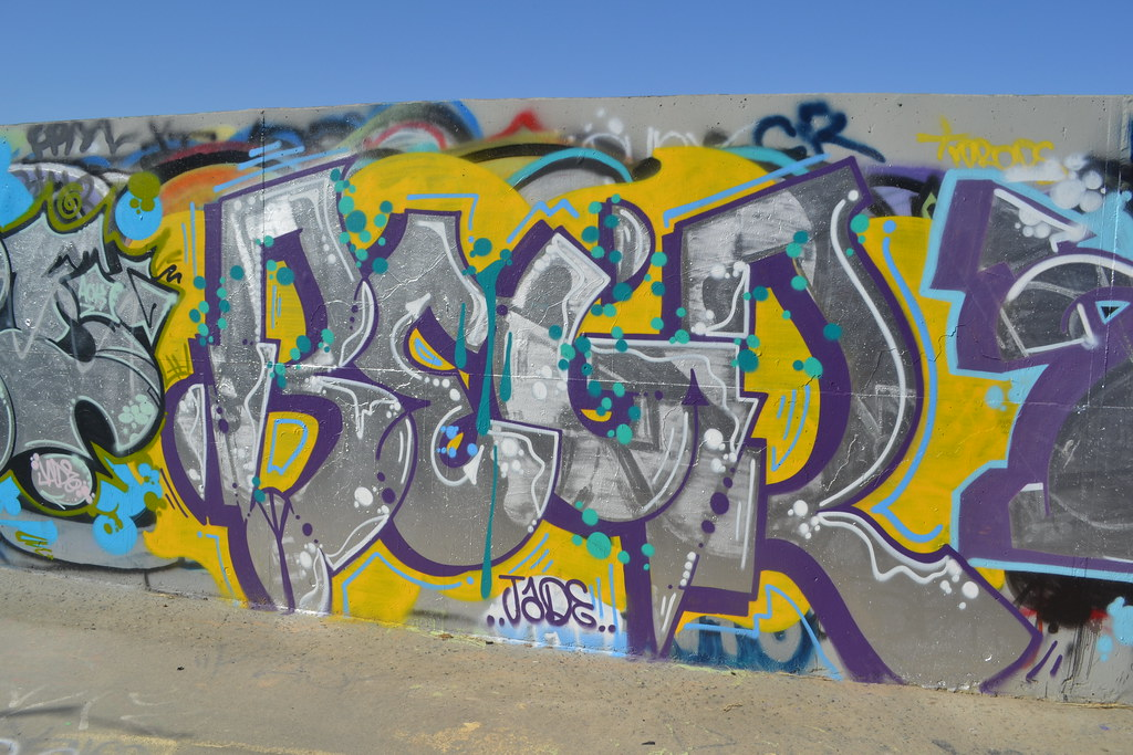 BERG, D30, TWB, Graffiti,