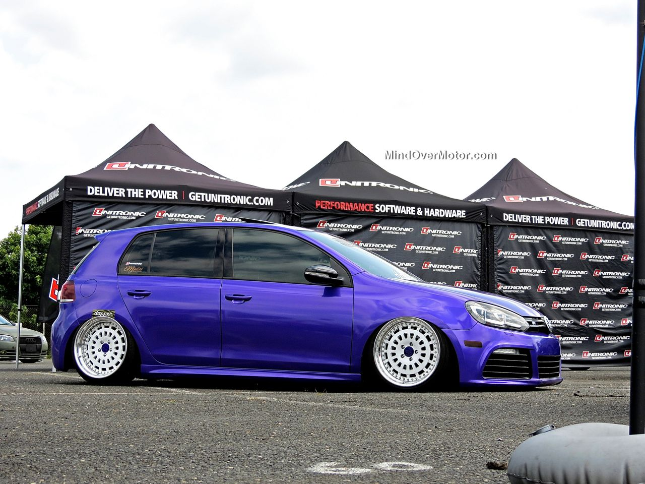 Waterfest 20 Purple VW Golf R