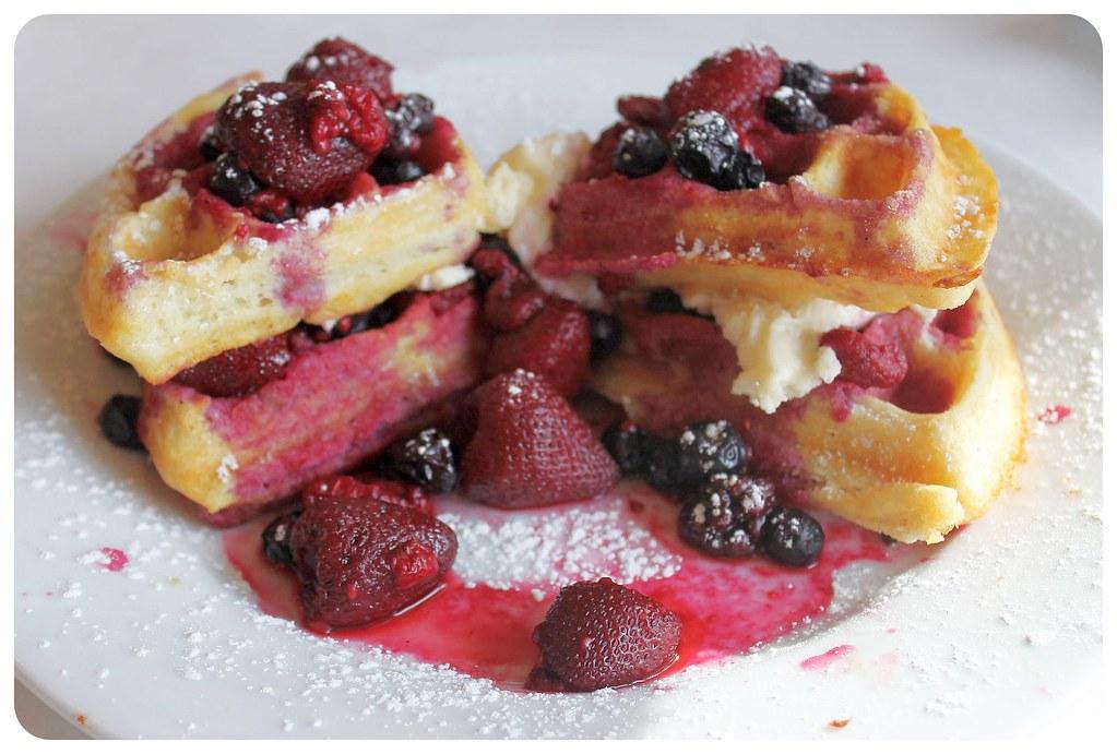 historic plaza hotel las vegas berry waffles
