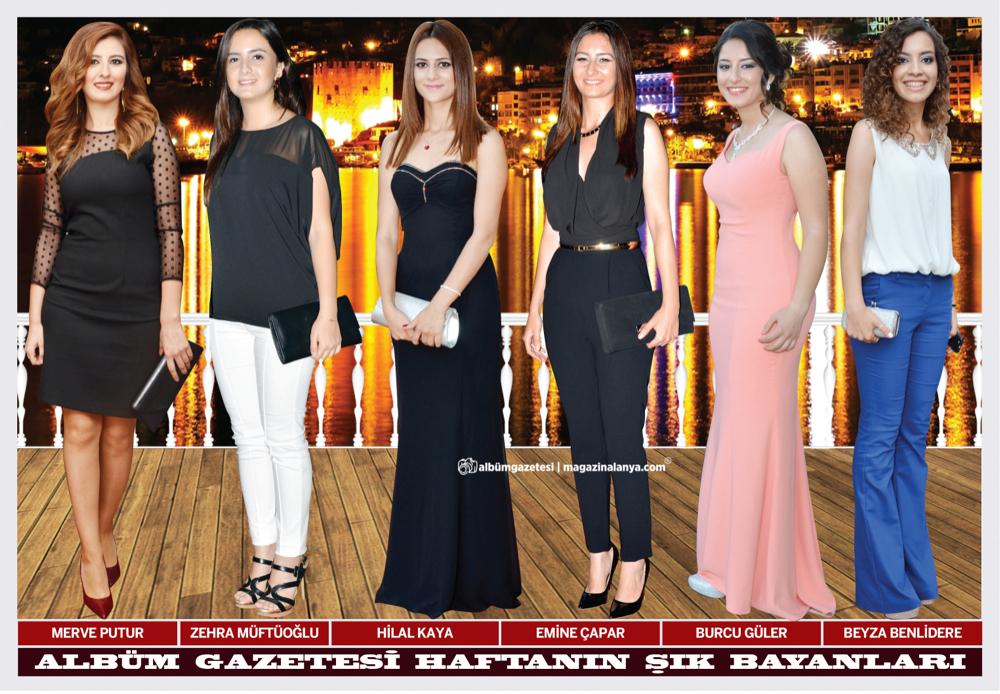 Merve Putur, Zehra Müftüoğlu, Hilal Kaya, Emine Çapar, Burcu Güler, Beyza Benlidere