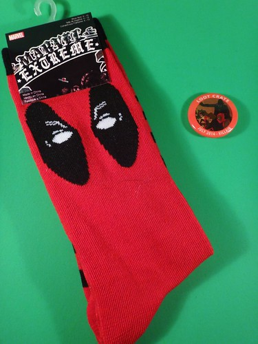July 2014 Loot Crate: Villains socks