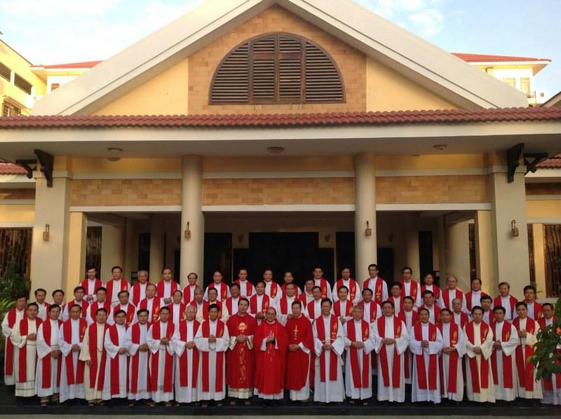 Khoá tu nghiệp Toà án hôn phối tại Toà Giám mục Nha Trang