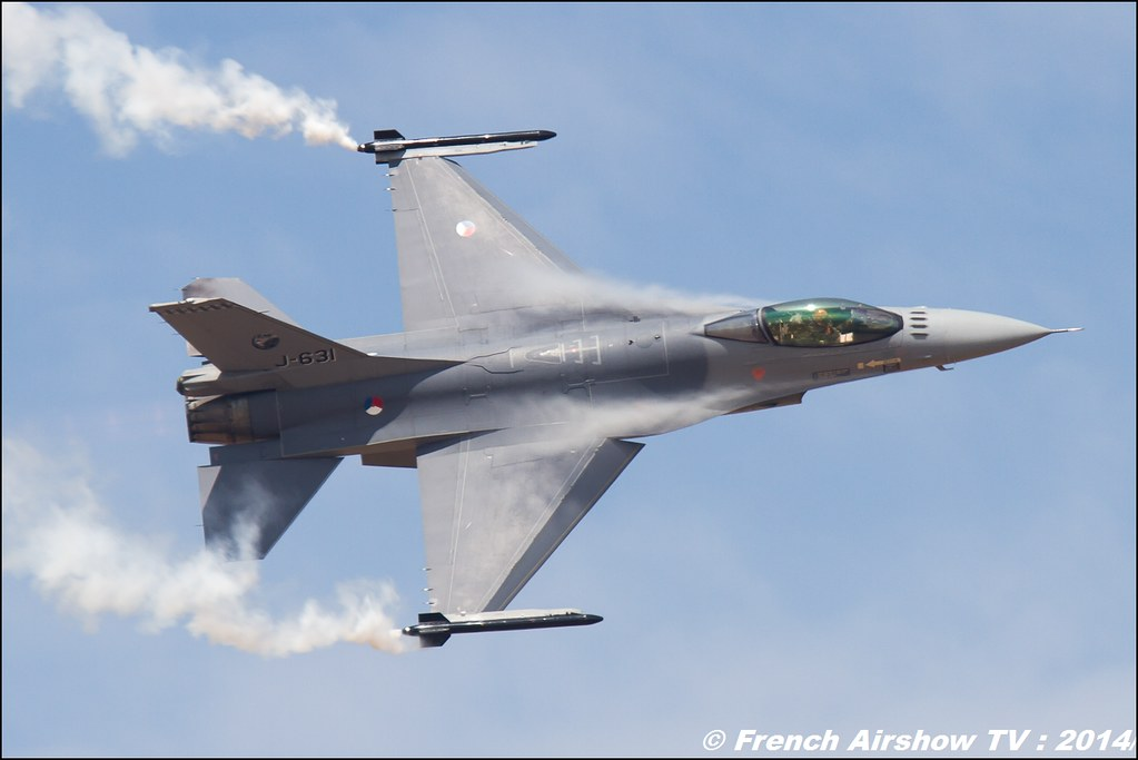 F-16 DEMO TEAM RNLAF NANCY 2014